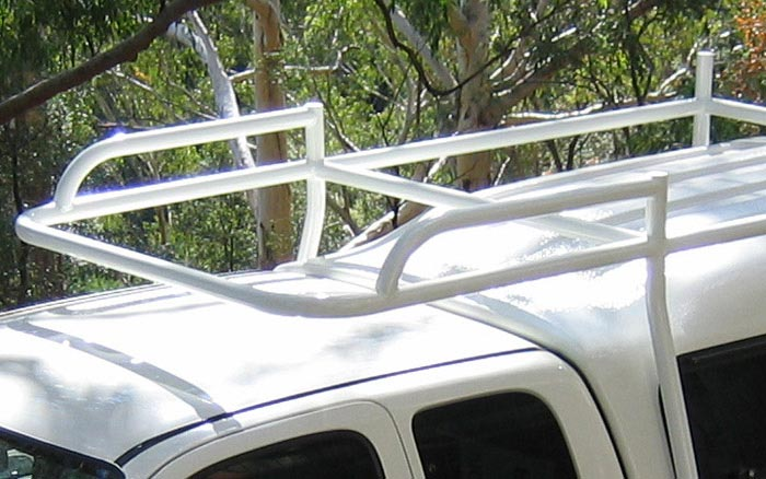 Roof rack top view